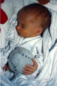 Baby keeg baseball
